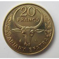 Мадагаскар. 20 франков 1970   .6G-1