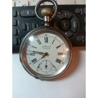 Карманные часы A. Steinert корпус серебро на ходу с 1 рубля без МПЦ