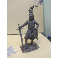 Солдатик оловянный(военно-истоическая миниатюра) европейский рыцарь