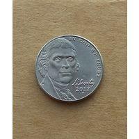 США, 5 центов 2012 г., Джефферсон, новый портрет
