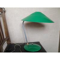 Старая настольная лампа.Лида.1964 г.