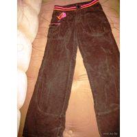 Сверхсовременные брюки с низкой посадкой.Новые р.40-42