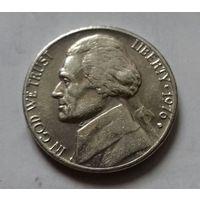 5 центов, США 1976 D