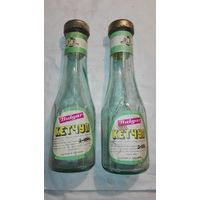 Бутылки из под болгарского кетчупа 1986 г.-