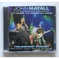 Audio 2xCD, JOHN MAYALL & THE BLUESBREAKERS & FRIENDS – 2CD – 70th BIRTHDAY CONCERT - 2003