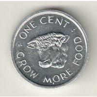 Сейшелы 1 цент 1972