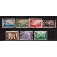СССР-1950 (Заг.1462(2)-1468(2)), растр ВР   гаш., Метро