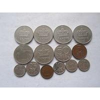 Норвегия 14 монет