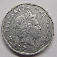 Восточно-Карибские острова 5 центов 2008 г