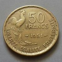 50 франков, Франция 1951 г.