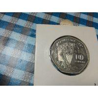 10 рупий 1997 года Маврикия в холдере 31