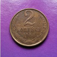 2 копейки 1988 СССР #08