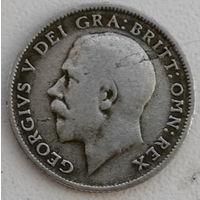Великобритания 6 пенс 1921