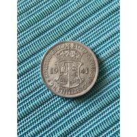 Британская Южная Африка 2 1/2 шиллинга 1941 г.