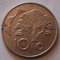 Намибия, 10 центов 1998 г