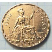 Великобритания 1 пенни, 1946               ( 5-1-3 )