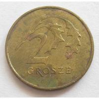 Польша 2 гроша 2010