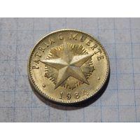Куба 1 песо 1984 звезда (1983-1989)