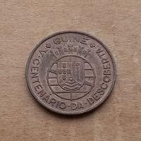 Португальская Гвинея, 1 эскудо 1946 г., 500 лет открытия Гвинеи
