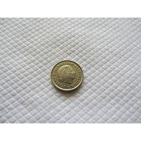 Монета Нидерландов, 10 центов 1973 г.