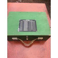 Удобнейший и прочный,с надёжным замочком-фиксатором оригинальный армейский советский ящик.