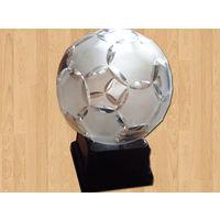 Хрустальный футбольный мяч-кубок