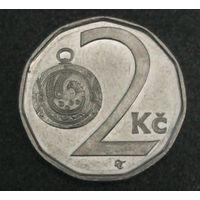 Чехия 2 кроны 2001