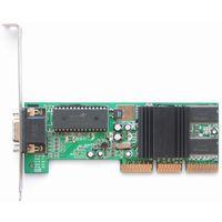 Видеокарта NVIDIA TNT2_64 Vanta-16 - AGP-4x (AGP-2x/4x), 16Мбайт. Подходит для ретро-плат. =Рабочая=