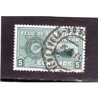 Венесуэла.Ми-734.Республика Венесуэла Серия: Большой колумбийский торговый флот.1951.