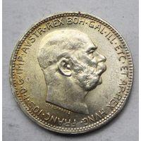 Австрия, корона, 1916, серебро