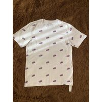 """Белая футболка """"Pull & Bear"""" новая"""