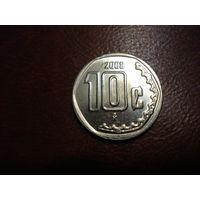 10 сентаво 2008 года Мексика