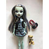Кукла Монстер Хай Monster High Фрэнки на резинках 1-й выпуск
