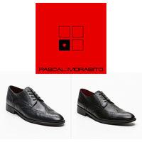 Кожаные туфли французского бренда PASCAL MORABITO, 100 % оригинальные