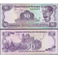 Никарагуа 50 кордоба  1984г.  Состояние UNC .    распродажа