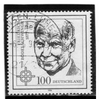 Германия. Ми-1835. Фридрих фон Бодельшвинг (1877-1946). Серия: 50-я годовщина смерти. Фридриха фон Бодельшвинга. 1996.