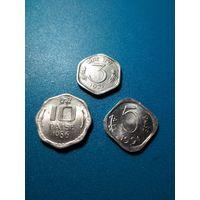 Индия 3 монеты
