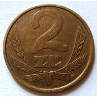 2 злотых 1987 Польша