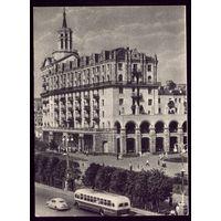 1954 год Киев Новый дом на Крещатике
