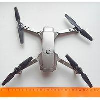 Квадрокоптер. С камерой HD 4K. WIFI FPV. Дрон E68. Складной + 3 аккумулятора