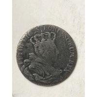 6 грошей 1757