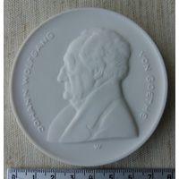 Медаль Мейсона, фарфор, 1977