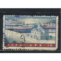Греция Кор 1958 Порт Пирея Стандарт #674