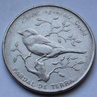Кабо-Верде, 50 эскудо 1994 г (Птицы - Воробей Яго)