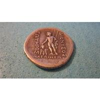 Монета Тетрадрахма города Маронея во Фракии. Чекан 2-1 век до н.э. Серебро
