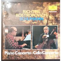 Schumann. Richter, Rostropovich - Piano Concerto. Cello Concerto. (UK)