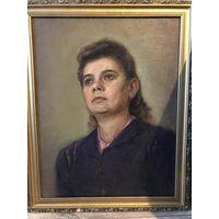 Портрет худ В.Лось 1924- 1968 (1960год)