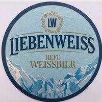 Подставка под пиво Liebenweiss /Германия/