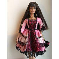 Кукла Барби модель редкая продаётся нюд ( без платья обуви) но в родных серьгах кулоне колечках