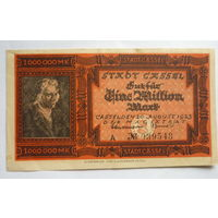 Германия. 1000000 марок 1923г.
